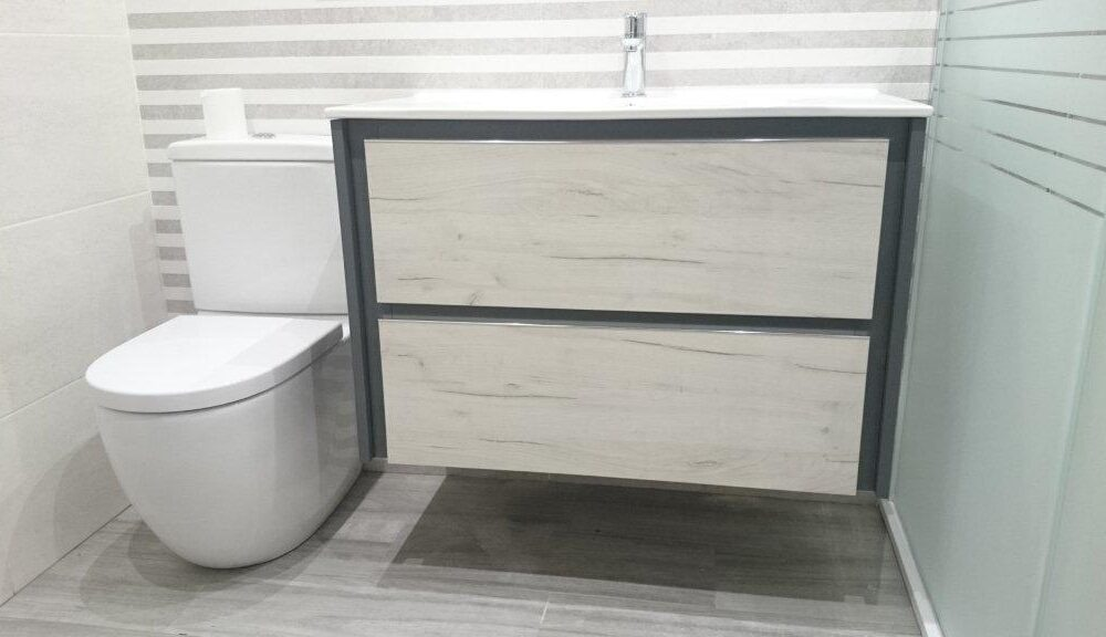 Reforma de baño calle Vitoria Logroño